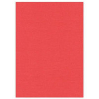A4 canvas cardboard, 10 sheets, red