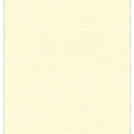 Karten und Scrapbooking Papier, Papier blöcke 10 ark, A4 linned pap, creme farve, 240 gr