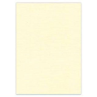 Karten und Scrapbooking Papier, Papier blöcke 10 Bogen, A4 Leinen Karton, creme farbe, 240 gr