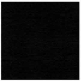 Karten und Scrapbooking Papier, Papier blöcke 10 sheets of linen cardboard 250 GSM, black, 30 x 30 cm!
