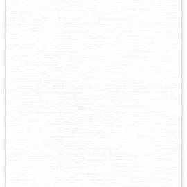 Karten und Scrapbooking Papier, Papier blöcke Hætte 10 bue karton 240 GSM, hvid
