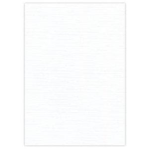 Karten und Scrapbooking Papier, Papier blöcke 10 Bogen Leinen Karton 240 GSM, weiss