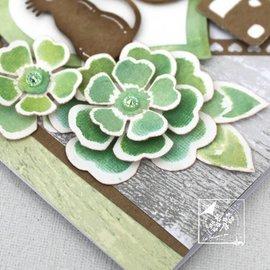 Joy!Crafts / Jeanine´s Art, Hobby Solutions Dies /  Stanz- und Prägeschablone: Blumen mit Blätter