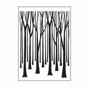 DARICE Embossing folders, trees
