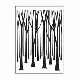 DARICE carpetas de grabación en relieve, árboles