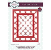 CREATIVE EXPRESSIONS und COUTURE CREATIONS Stamping template: stars frame / twinkle star frames