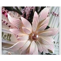 Coupe meurt décoratif, fleur magnifique