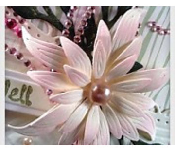 Docrafts / X-Cut Stansmessen decoratief, prachtige bloem