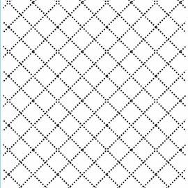 DARICE Gofrado carpetas, los diamantes con líneas finas bordado