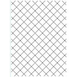 DARICE Goffratura cartelle, diamanti con linee sottili ricami