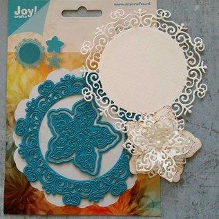 Joy!Crafts / Jeanine´s Art, Hobby Solutions Dies /  Ponsen en embossingmal: Cirkel met bloem