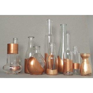 BASTELZUBEHÖR, WERKZEUG UND AUFBEWAHRUNG 25 sheets of sheet metal 14 x 14 cm, copper
