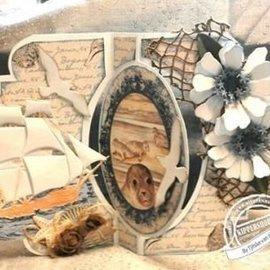 Marianne Design La perforación de plantilla: conchas marinas