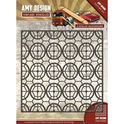 AMY DESIGN, Stamping stencils, vintage background