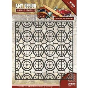 AMY DESIGN AMY DESIGN, stempling stencils, vintage baggrund
