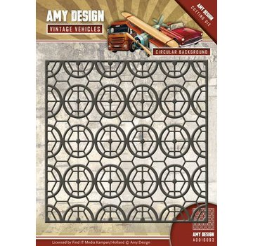 AMY DESIGN AMY DESIGN, Stamping stencils, vintage background