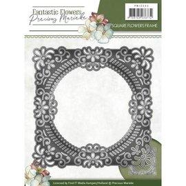 Precious Marieke Stamping stencils, floral decorating frames