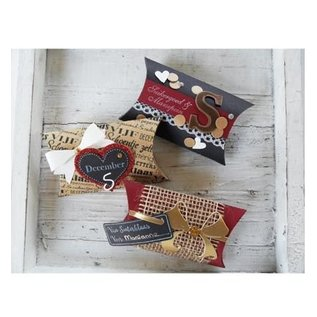 Marianne Design Ponsen sjabloon: Bow & ribbon - slechts één beschikbaar!