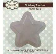 CREATIVE EXPRESSIONS und COUTURE CREATIONS Set mit 6 plastik halb Sternen passend für die Stanzschablone Stern Artikel Kh446856 CED3094