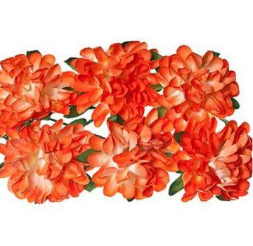 BLUMEN (MINI) UND ACCESOIRES fiori di carta romantici