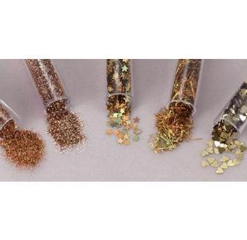 BASTELZUBEHÖR, WERKZEUG UND AUFBEWAHRUNG Glitter & bagattelle SET 5 Aree