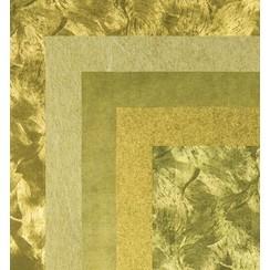 Paper, 15.0 x 15.0 cm, Gold Metallics textures