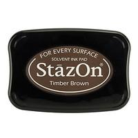 Inchiostro per timbratura StaZon, Timber Brown (l'inchiostro Stazon è resistente al colore e all'acqua)