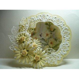 Marianne Design Ponsen sjabloon: vlinder Anja's