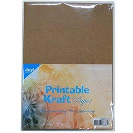 Karten und Scrapbooking Papier, Papier blöcke papel kraft para imprimir A4, 175 gr, 25 hojas