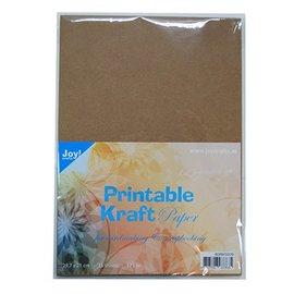 Karten und Scrapbooking Papier, Papier blöcke Cardstock, A4 Bedruckbares Kraftpapier, 175 gr, 25 Blatt