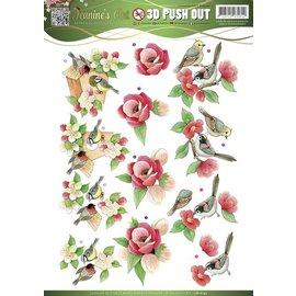 Bilder, 3D Bilder und ausgestanzte Teile usw... Stamping stencils: Garden Classics