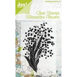 Stempel / Stamp: Transparent Sello transparente, sello transparente: flores