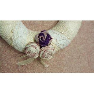 BASTELSETS / CRAFT KITS Compleet knutselpakket voor 1 prachtige rozenkrans