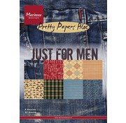 Karten und Scrapbooking Papier, Papier blöcke Designersblock, A5, Just for MEN