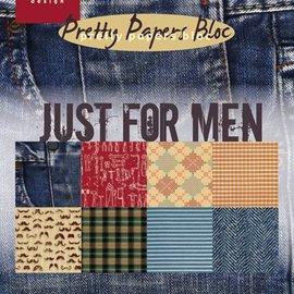 Karten und Scrapbooking Papier, Papier blöcke Designersblock, A5, solo per gli uomini