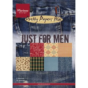 Karten und Scrapbooking Papier, Papier blöcke Designersblock, A5, Just for Men