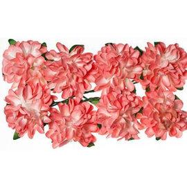 BLUMEN (MINI) UND ACCESOIRES Papieren bloemen: Roze