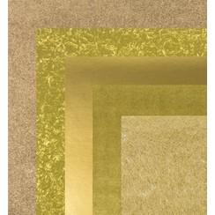 Paper, 15.0 x 15.0 cm, copper metallics textures