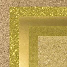 BASTELZUBEHÖR, WERKZEUG UND AUFBEWAHRUNG Papier, 15,0 x 15,0 cm, cuivre textures Métalliques