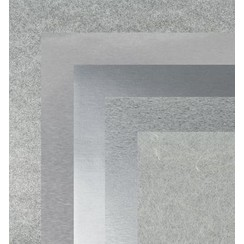 Paper, 15.0 x 15.0 cm, silver metallics textures