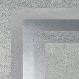 BASTELZUBEHÖR, WERKZEUG UND AUFBEWAHRUNG Carta, 15,0 x 15,0 cm, metallizzati argento texture