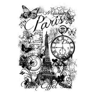 Stempel / Stamp: Transparent Clear Stamp: Paris Collage