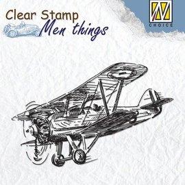 Stempel / Stamp: Transparent Chiara impronta: Aircraft