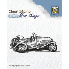 Clear Stamp: Old Timer
