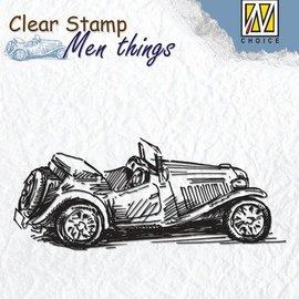 Stempel / Stamp: Transparent Timbri trasparenti: Old Timer