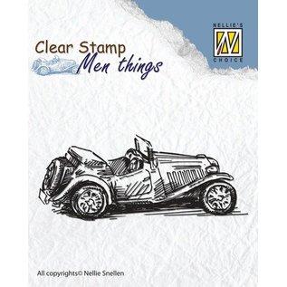 Stempel / Stamp: Transparent Clear Stempel: Old Timer
