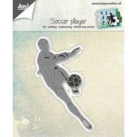 Joy!Crafts / Jeanine´s Art, Hobby Solutions Dies /  Stamping template: Footballer