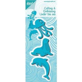 Joy!Crafts / Jeanine´s Art, Hobby Solutions Dies /  Stansmessen: verbinding, Dolfine en Kwalle