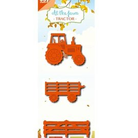 Joy!Crafts / Jeanine´s Art, Hobby Solutions Dies /  Fustelle: Trattore e accessori