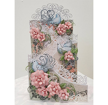 Heartfelt Creations aus USA Limited edition! HEARTFELT Collection: Flowering Dogwood & Doves